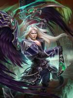 SMITE Thanatos Final Boss by Scebiqu