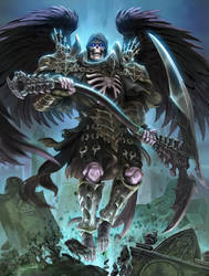 SMITE Thanatos Grim Reaper by Scebiqu