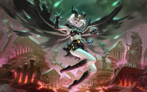 SMITE Oblivion Queen Discordia by Scebiqu