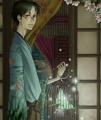 Watanuki Kimihiro by surrealgreen