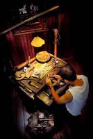 Traditional Chinese Goldsmith by SAMLIM