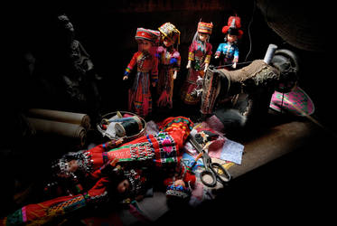Traditional Doll by SAMLIM
