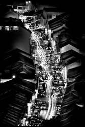 Chinatown after dark... by SAMLIM