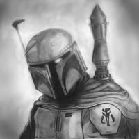 Boba Fett   Star Wars by MikeManuelArt