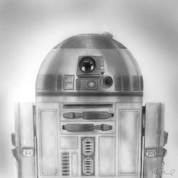 R2D2   Star Wars by MikeManuelArt