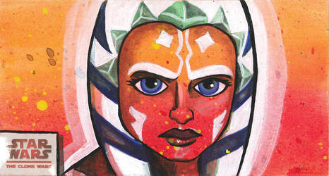 Clone Wars Wide Ahsoka Tano by JasonHughes