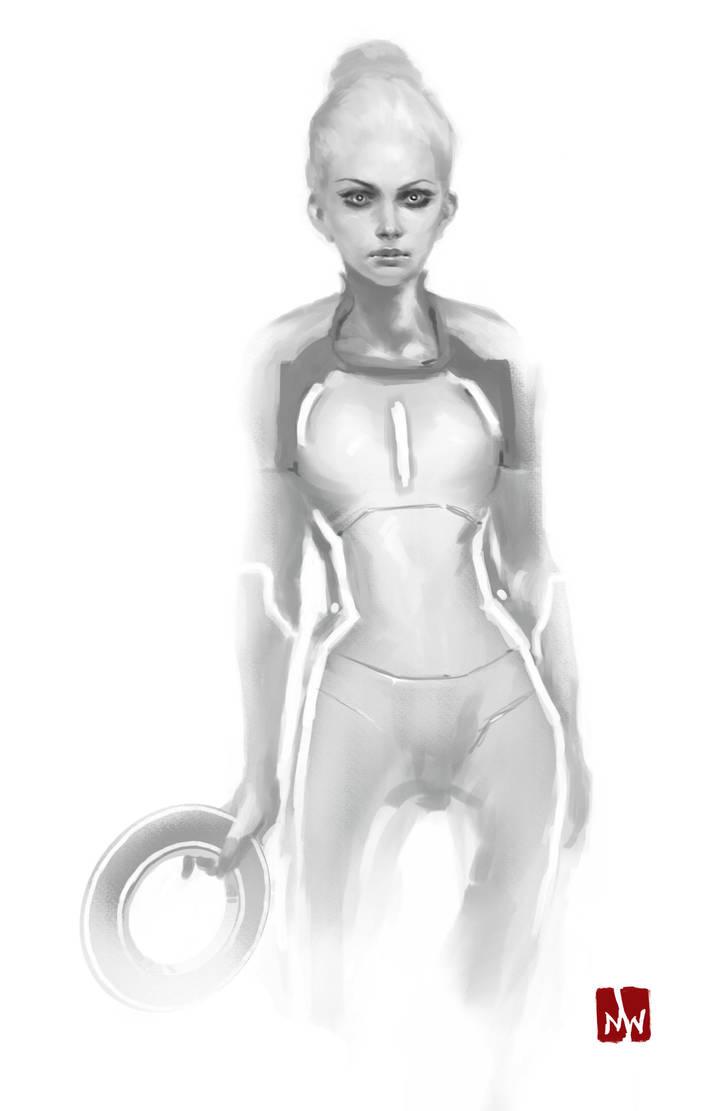 Tron Legacy::Gem Sketch by MarkWinters