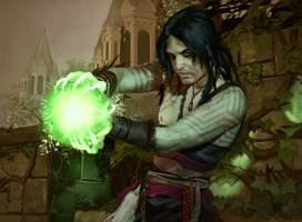 Zhur-Taa Druid by MarkWinters