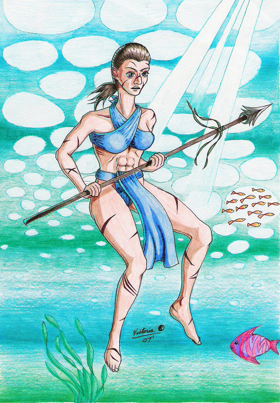 Siren, the Pirate Queen by Raikana