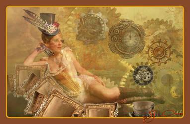 Steampunk lady by SueJO