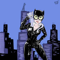 Catwoman by Defriki