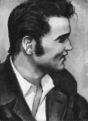 Elvis Presley by bebopalula