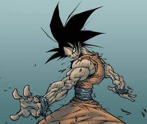 Goku Colors by TUS