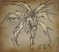 BeforeHisFall Seraphim by TUS