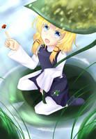Little Suwako by Hirukuneko