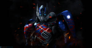 Optimus Prime 4K wallpaper by SUPERsaeJANG