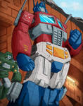 Optimus Prime by russcass