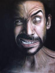 pastel portrait by Benbe