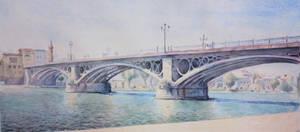 Trianas Bridge by Benbe