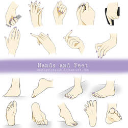 Hands and Feet by NuciComs