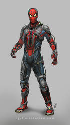 oscorp's spider suit 2.0 by ijul