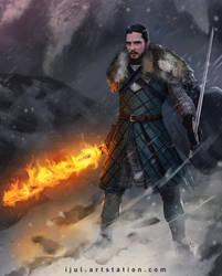Jon's new skill by ijul