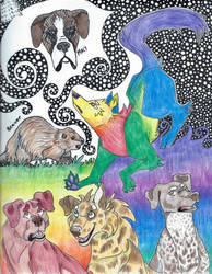 Sketchbook Page by devlilarts