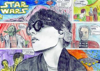 Gerard Way ArtIsSmart competition entry by 3cheersforart