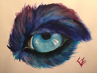 Wolf's Eye by ElizabethHolmes