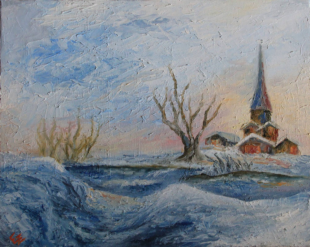 Music under the Snow by ElizabethHolmes