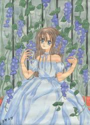 Blue Violet by Berrya