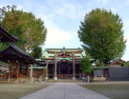 Ushijima shinto shrine 1 by afsan-deviant