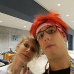 Nekocon 2015: Me and a new friend selfie by Smbzoo448