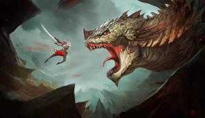 Monster hunter by frankhong