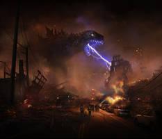 Godzilla by frankhong