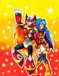 ZeroxBecky - Among the Stars by Sonicbandicoot