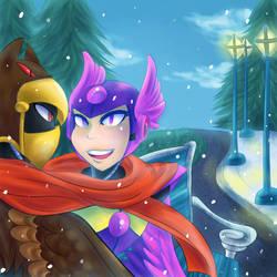 Merry Christmas RedLightningGem! by Sonicbandicoot