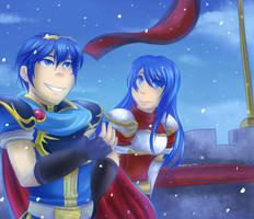 Merry Christmas FallenAngelofCrimson! by Sonicbandicoot
