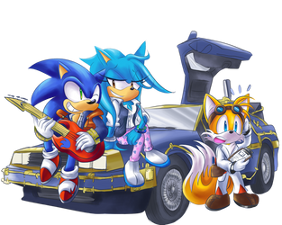 [EVENT] Going Back in Time to Make a Good Future! by Sonicbandicoot