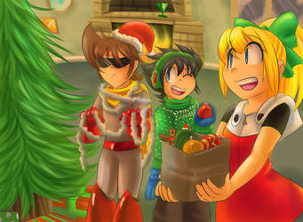 Having a Light-Hearted Christmas by Sonicbandicoot