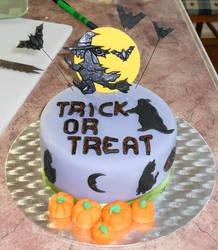 Halloween Cake by Thylacina