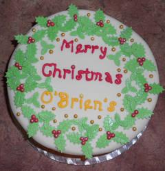 O'Brien's Christmas Cake by Thylacina