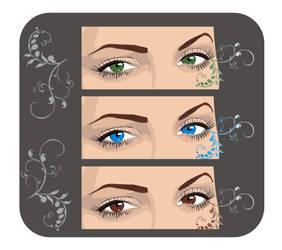 eyes by gingergraph