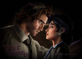 Bigby Wolf and Snow White by Bembiann