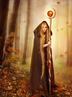 Autumn Witch by Euselia