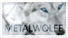 Metalwolfe Stamp by FireOpal14