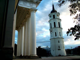 Vilnius Old city by tbest