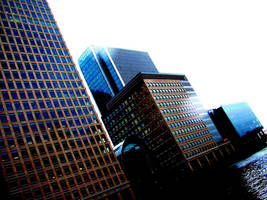 Canary wharf ... by tbest
