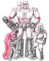 Mummy Mega Commander by strangefour