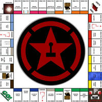 Achievement Hunter Monopoly by kanetain2